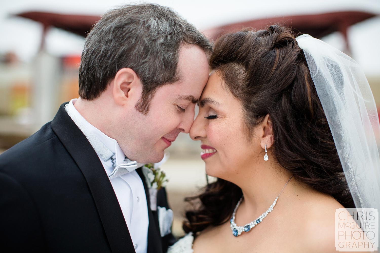 bride groom at firekeepers casino