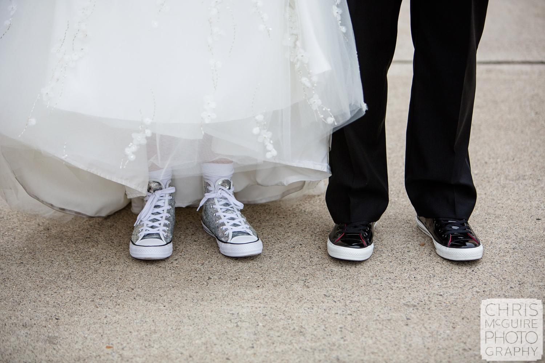 bride groom shoes chucks converse sequins