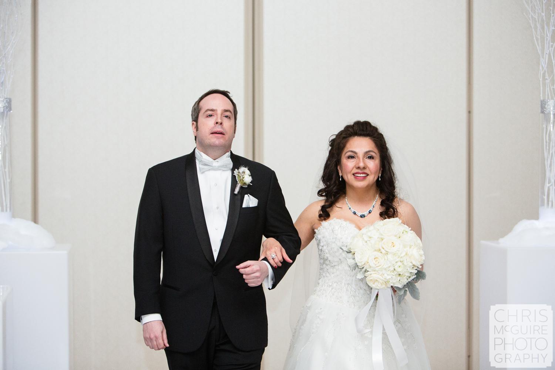 bride groom ballroom wedding