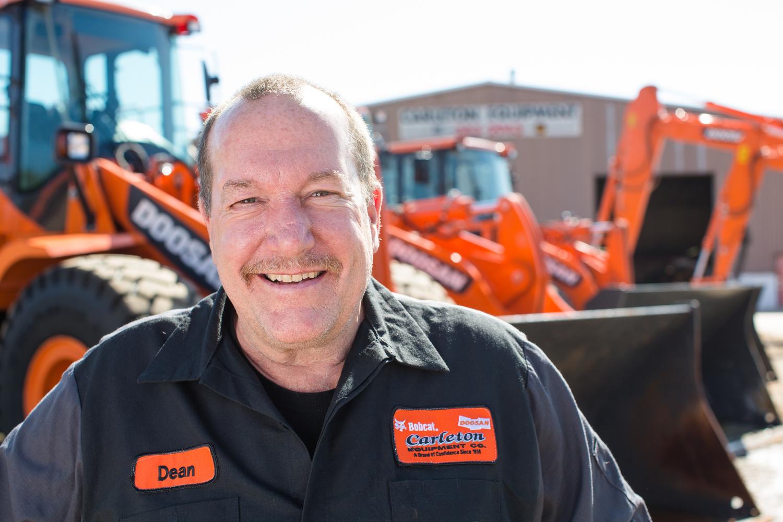doosan tractor commercial headshot