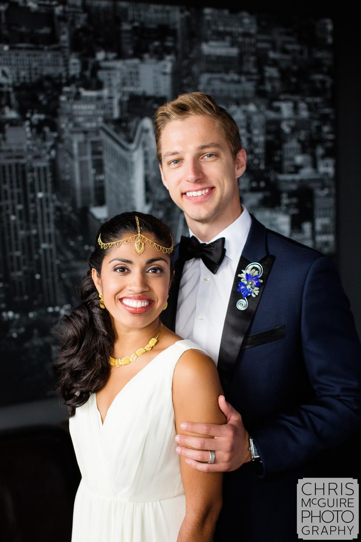 bride groom at loft 310