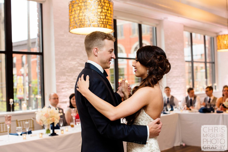 first dance loft 310 wedding