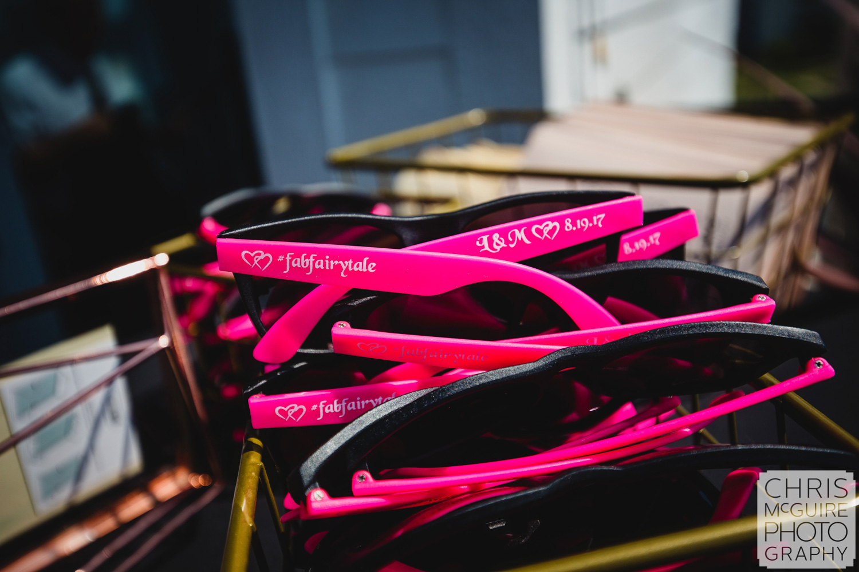 custom wedding sunglasses