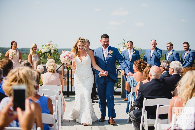 bride groom after wedding