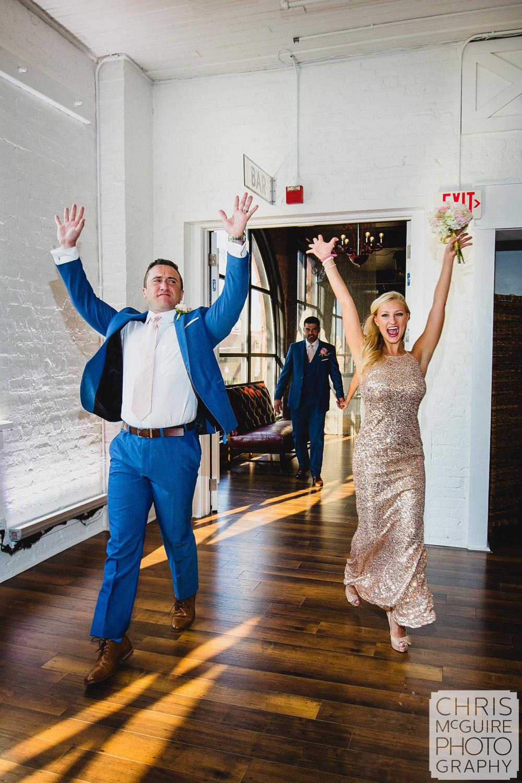 wedding party grand entrance