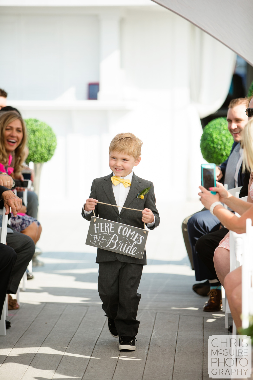 ring bearer at wedding