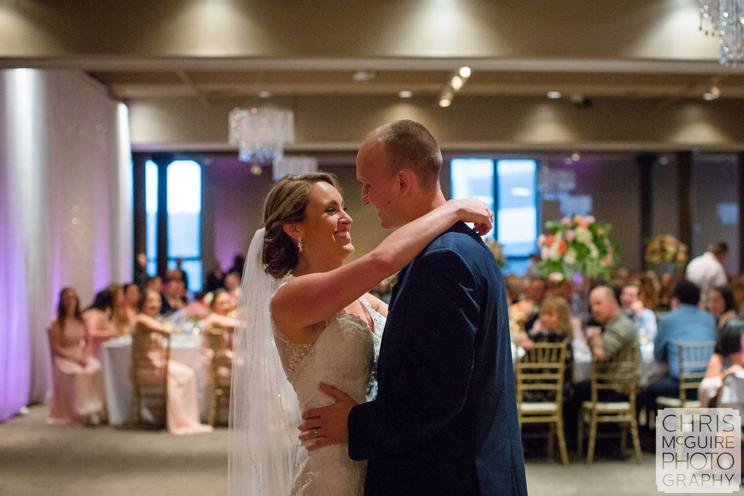 first dance at cityscape