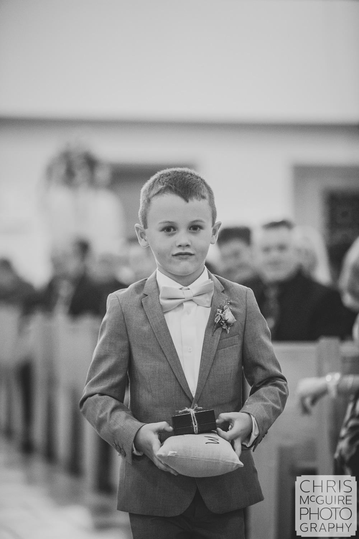 Central Illinois Wedding Photographer ring bearer