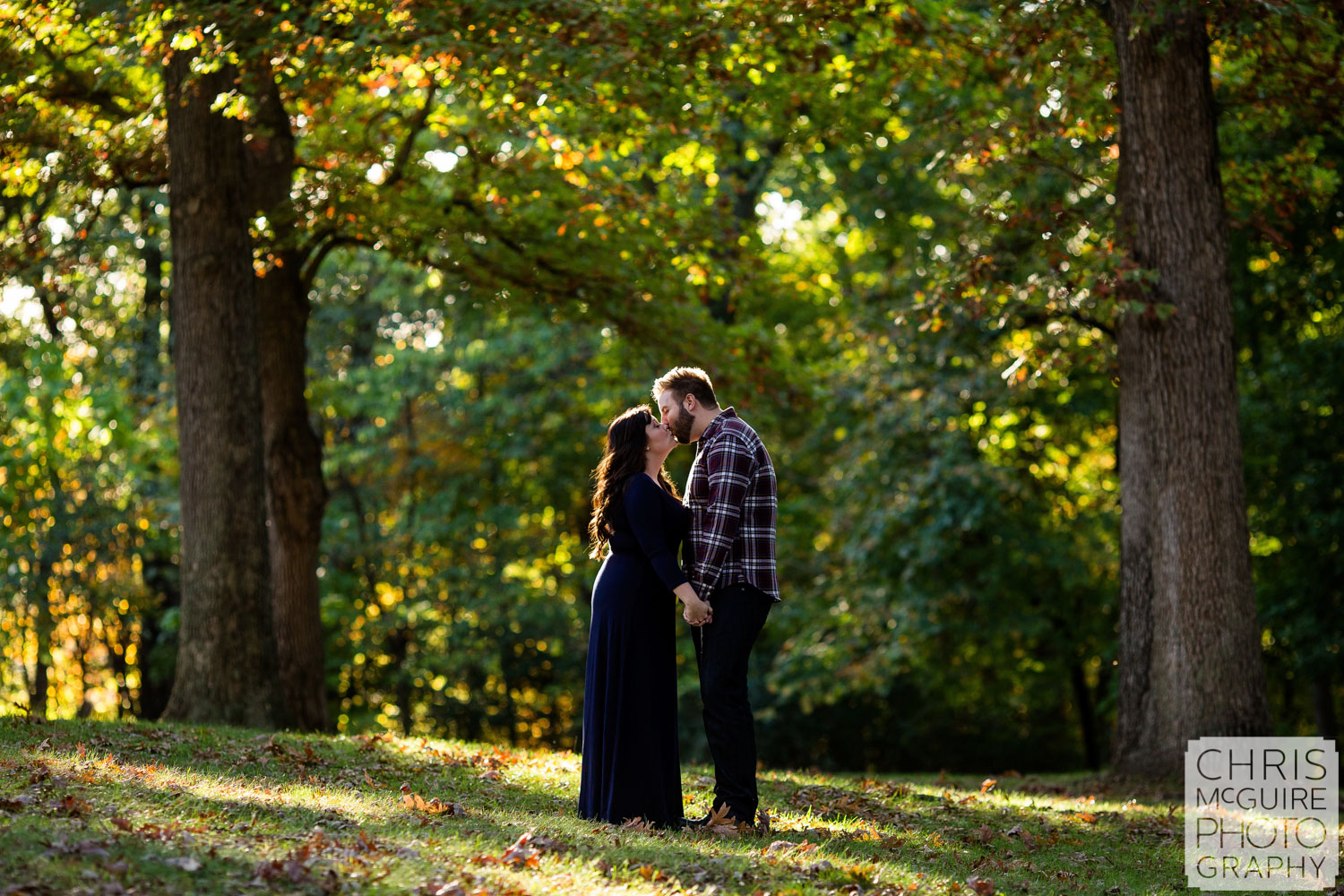 Central Illinois Wedding Photographer fall engagement