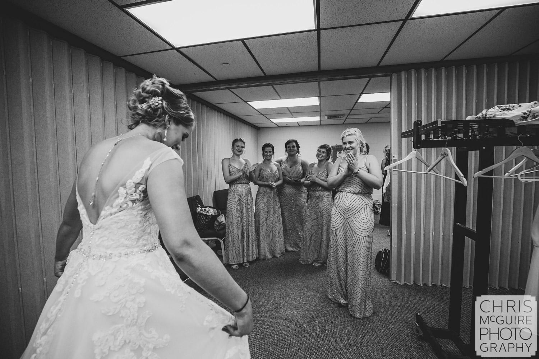 bridesmaid reveal