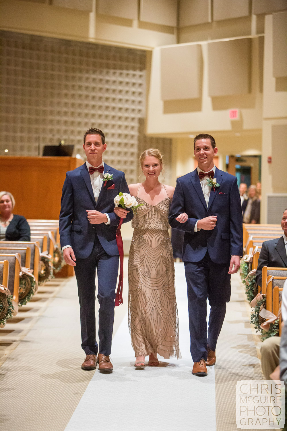 wedding party processional