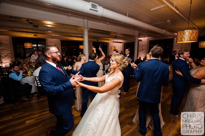 wedding dancefloor loft