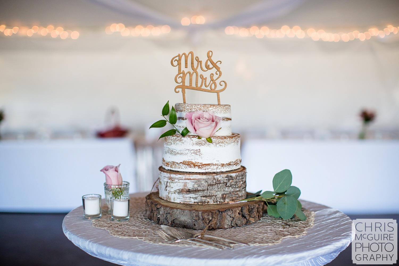 wedding cake naked frostine
