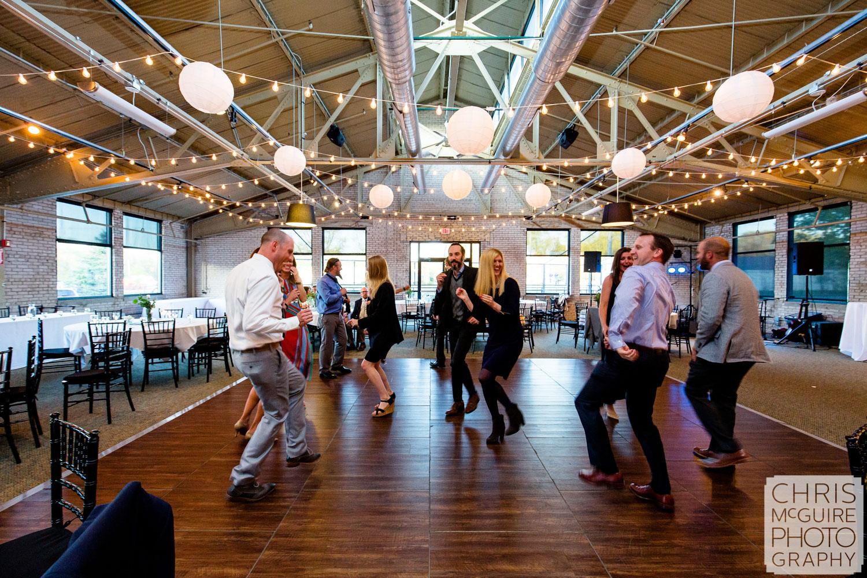 wedding dancefloor baker lofts
