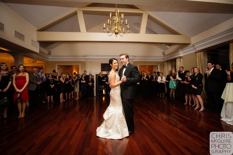 Peoria Illinois Wedding Photographer first dance