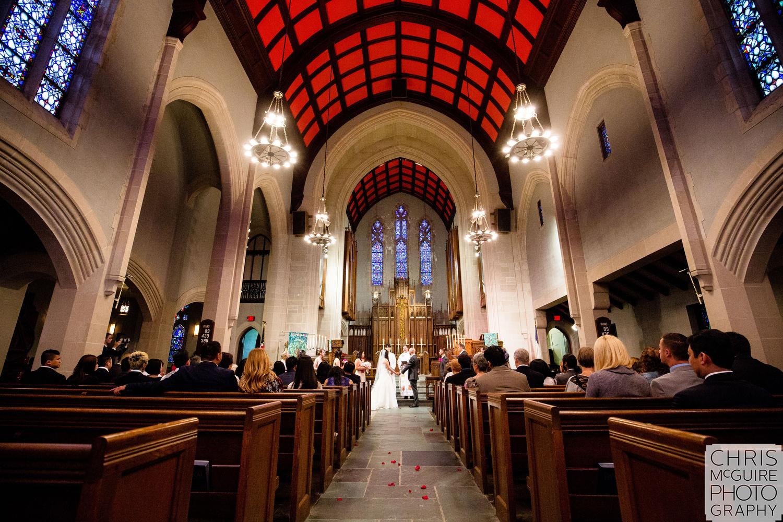 Chicago Wedding Photographer Trinity United Methodist