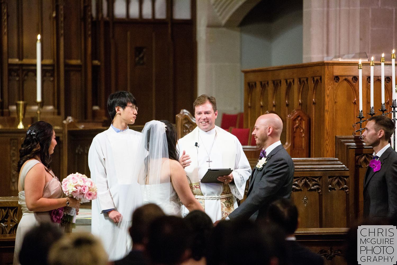 wedding ceremony in Chicago il