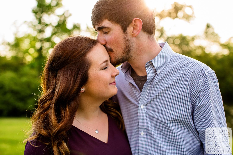 couple at donovan park peoria il