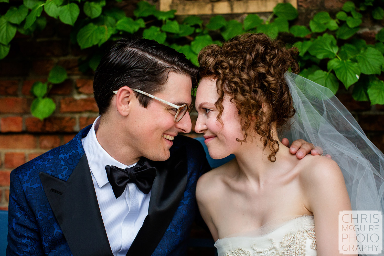 wedding at Chicago Botanic Gardens