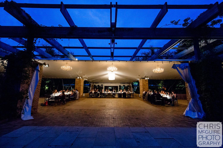 Chicago Botanic Gardens wedding reception