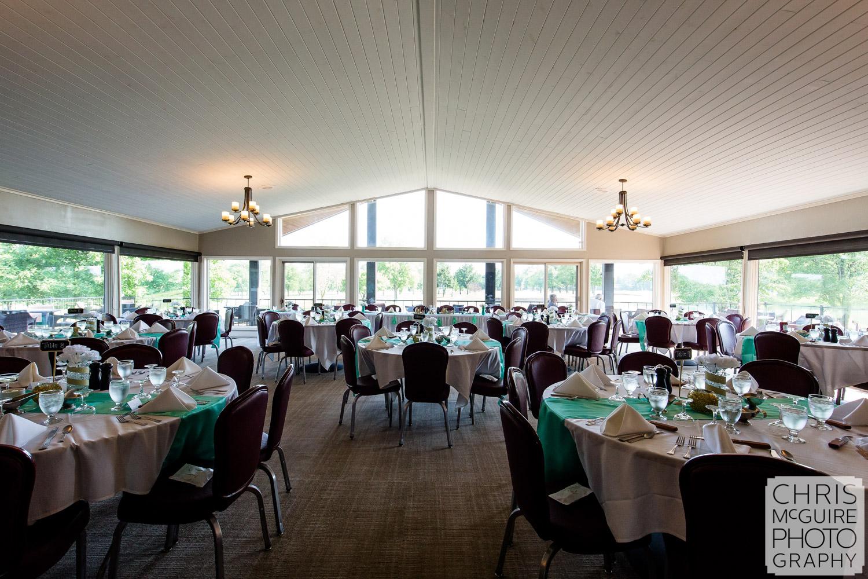 Crestwicke Country Club wedding reception