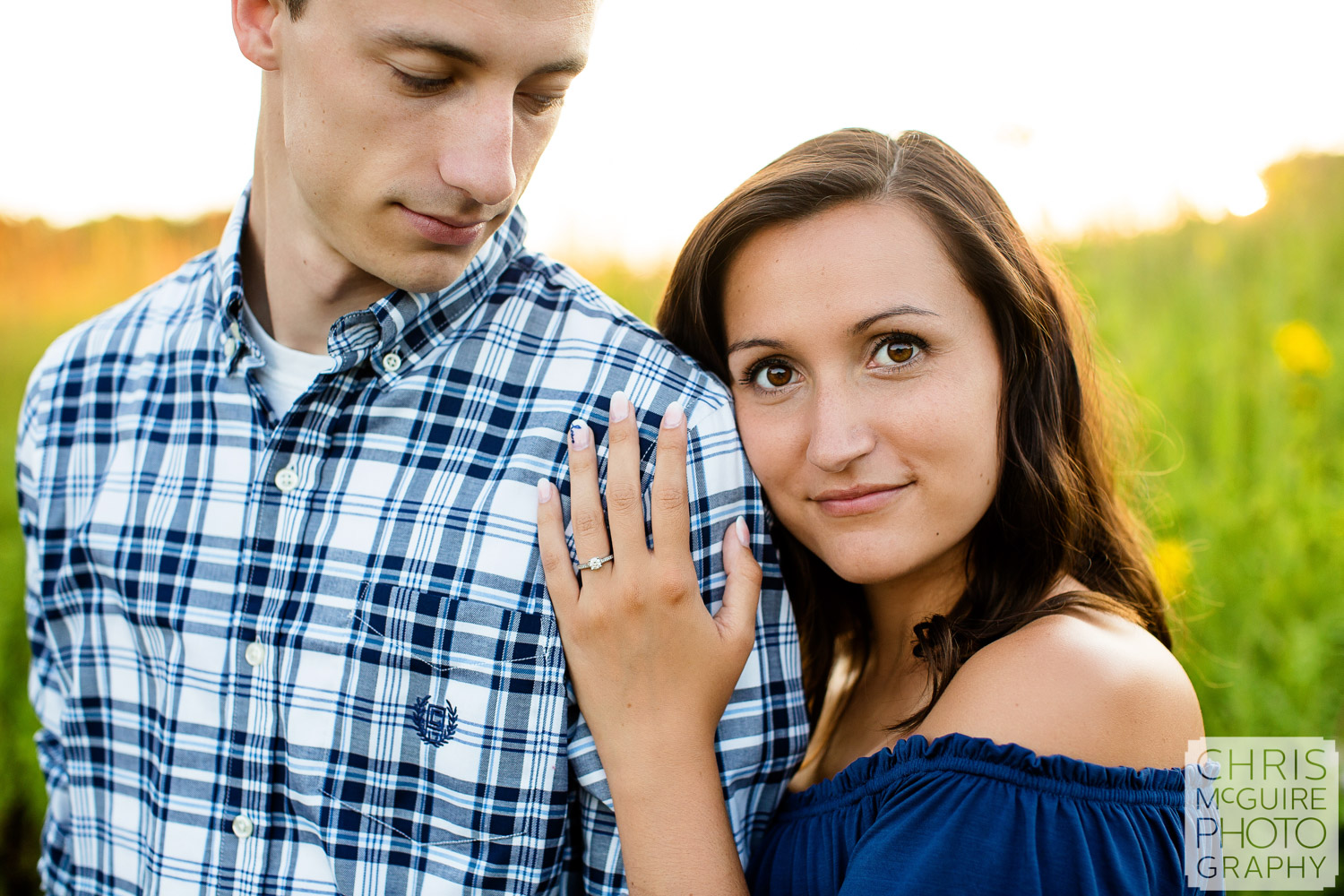 Jubilee College State Park Engagement Photo