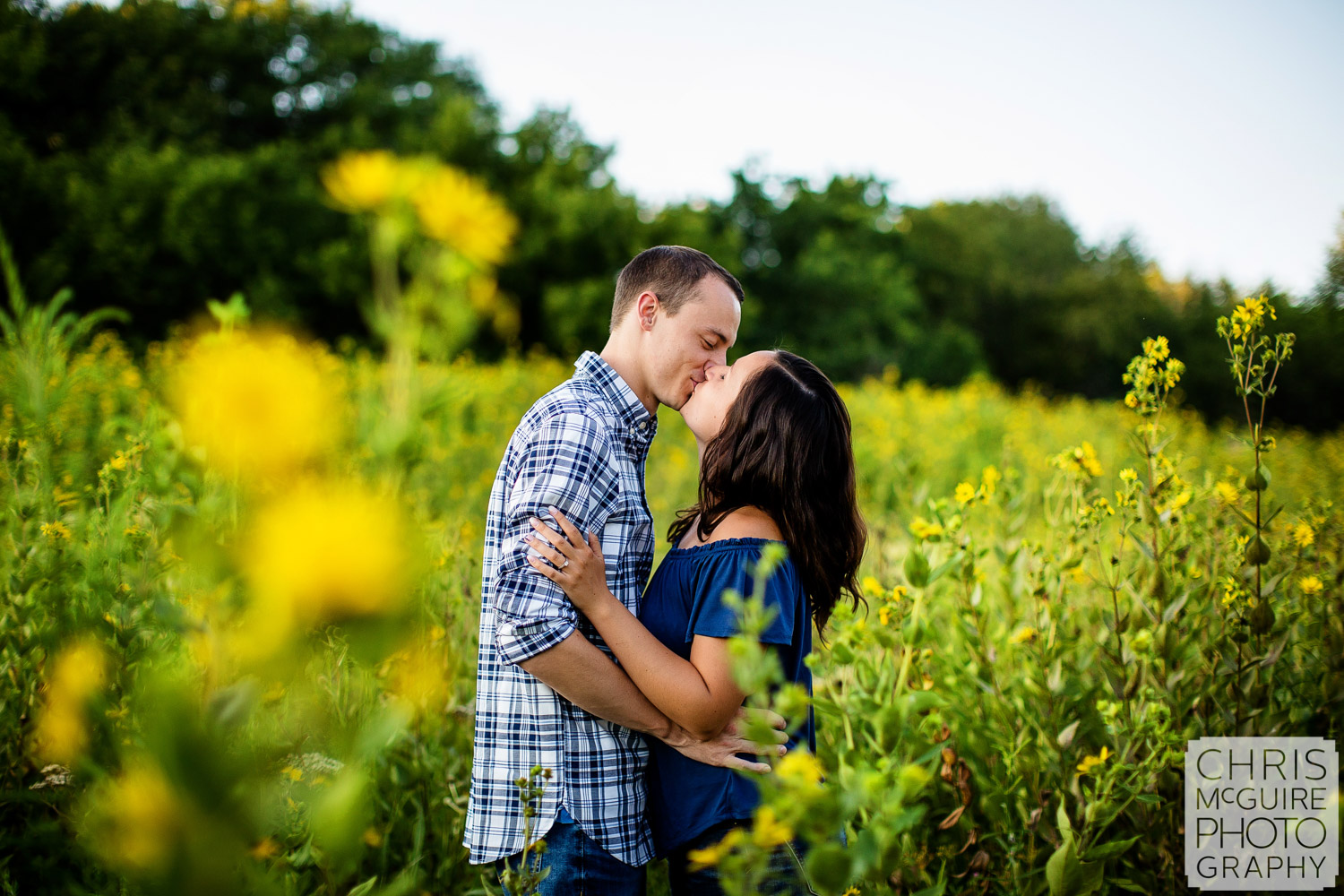 Jubilee Park Engagement Session