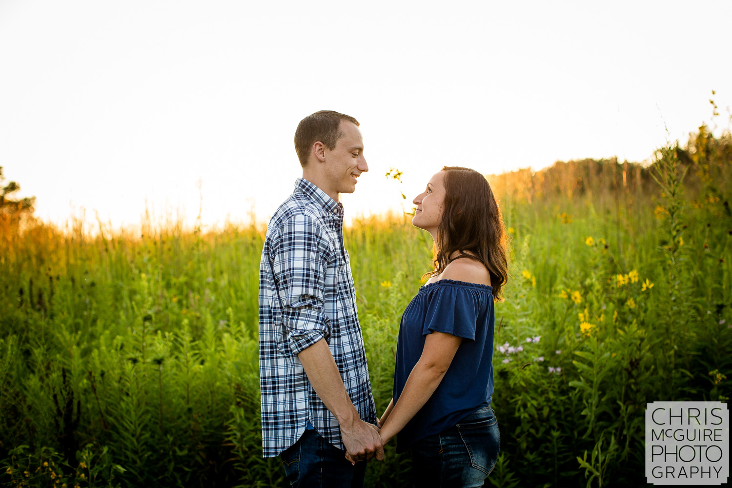 Jubilee Park Engagement Photo