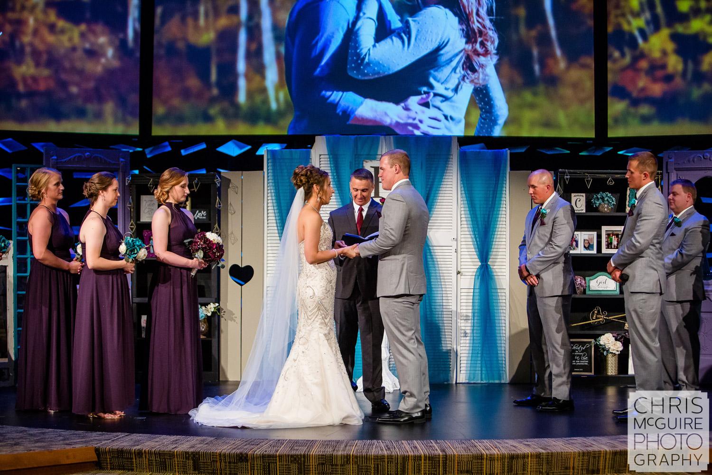 Harvest Bible Chapel Peoria IL Wedding
