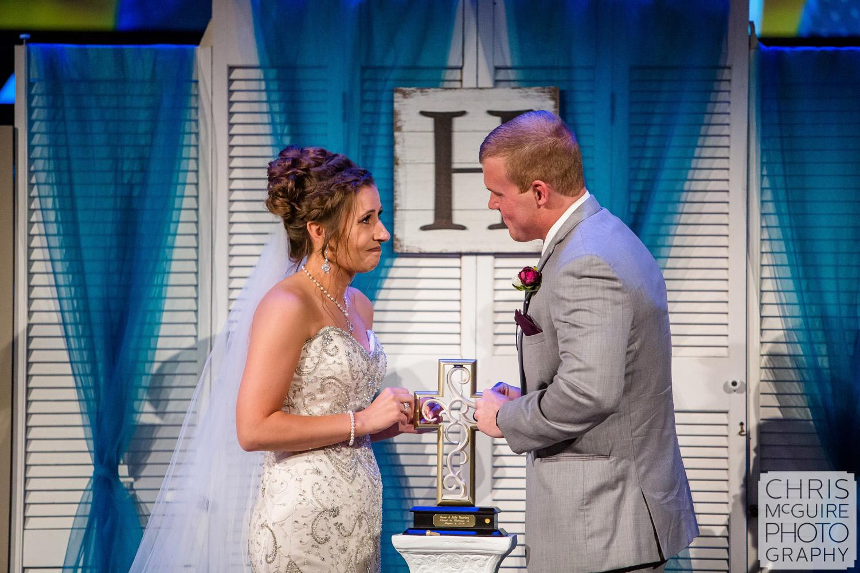 unity ceremony at Harvest Bible Chapel Peoria IL Wedding