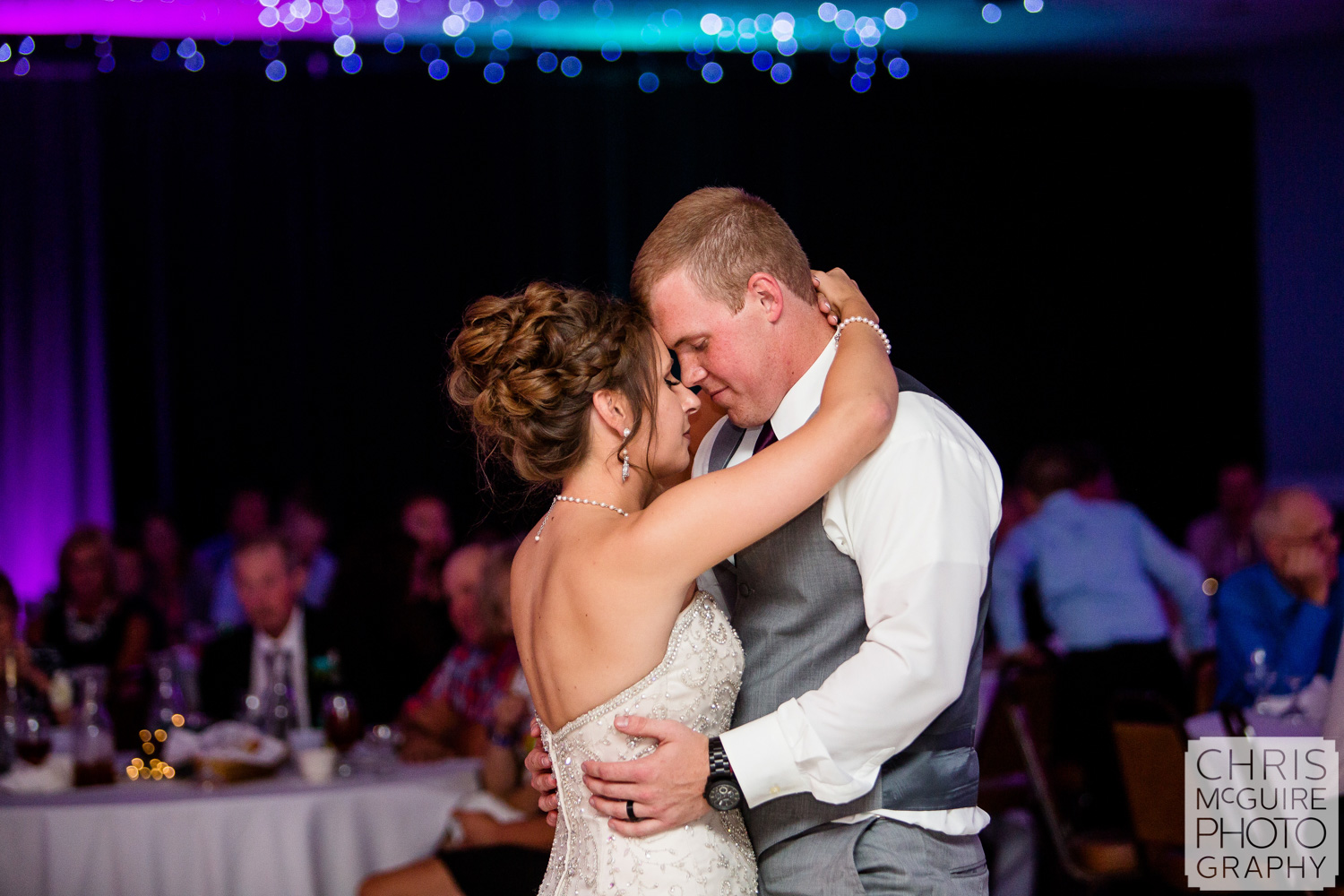 First Dance at Countryside Banquets Washington IL wedding