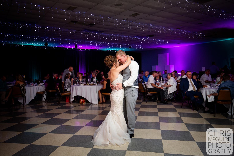 Countryside Banquets Washington IL wedding first dance