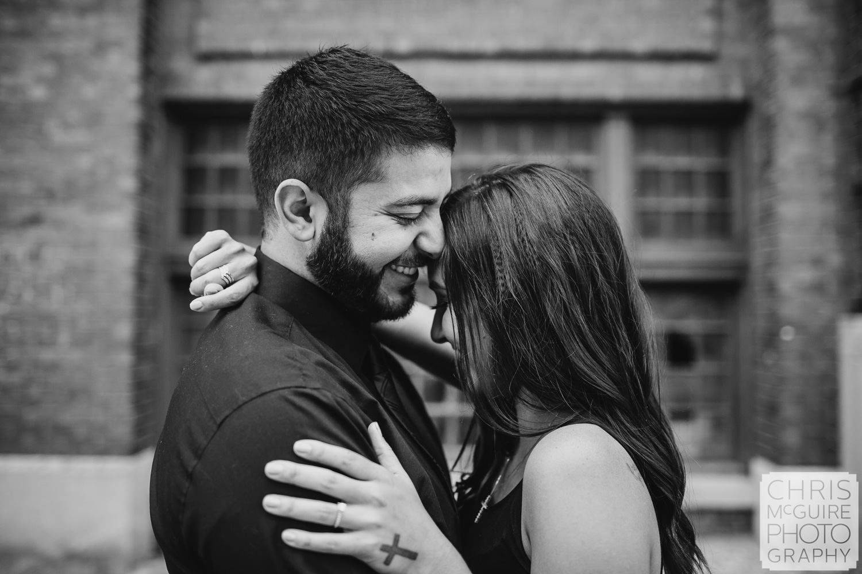 couple laughs, Peoria Wedding Photographer