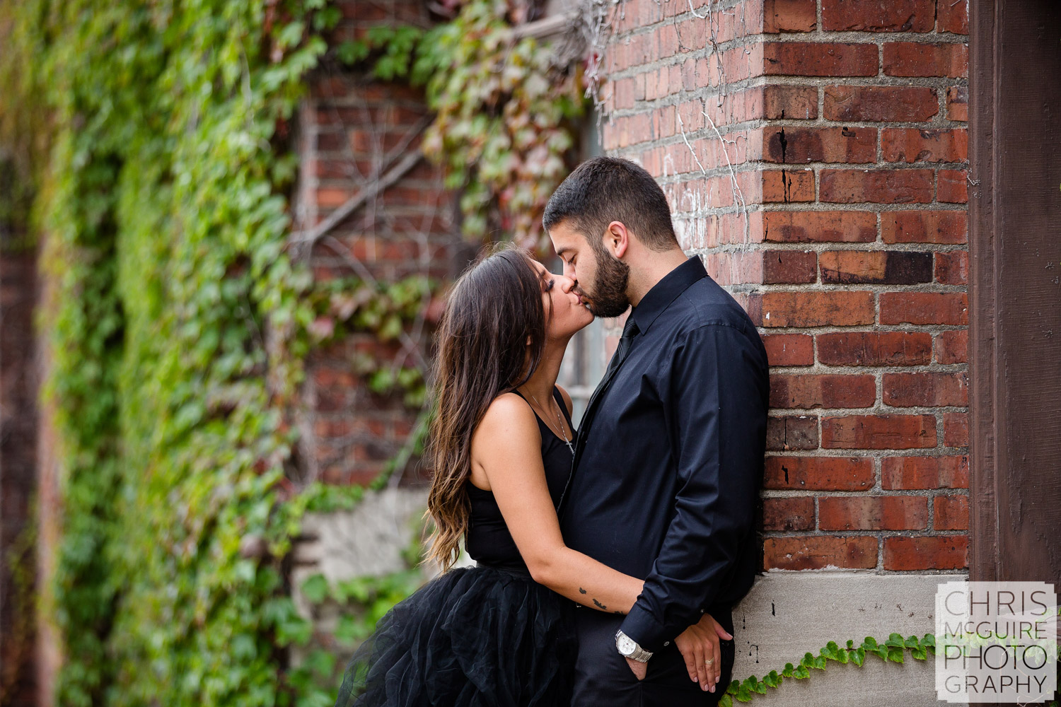 Peoria Engagement Session, Warehouse District