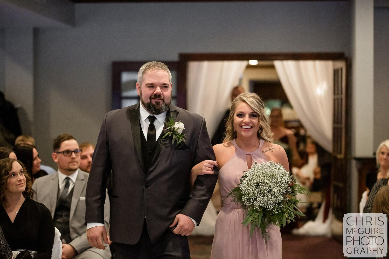 Peoria Illinois Indoor Wedding