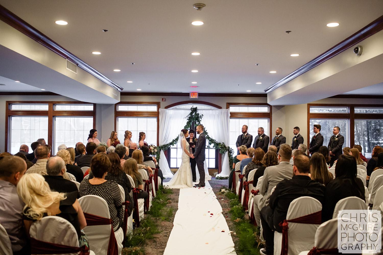 Weaver Ridge Peoria Illinois Winter Wedding
