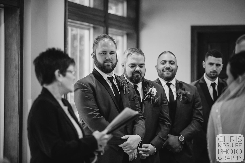 best man at Weave Ridge wedding