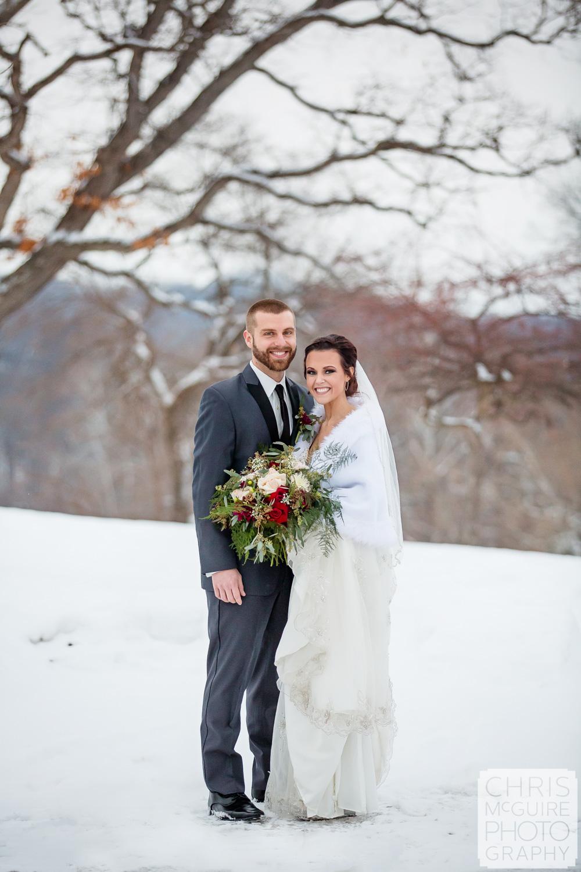 Peoria Illinois Winter Wedding