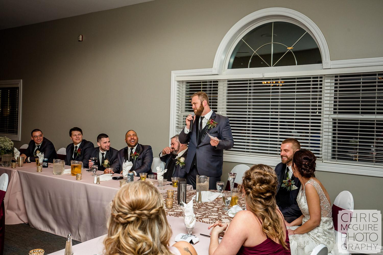 Weaver Ridge wedding toasts