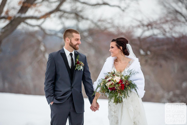 Weaver Ridge Winter Wedding Photography