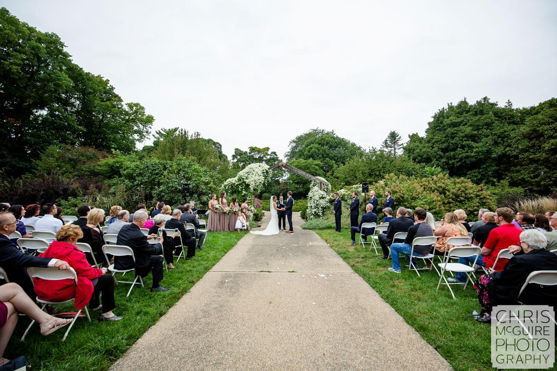 Luthy Botanical Garden Wedding
