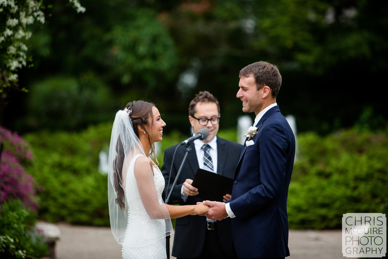 Luthy Botanical Garden Wedding, Peoria IL