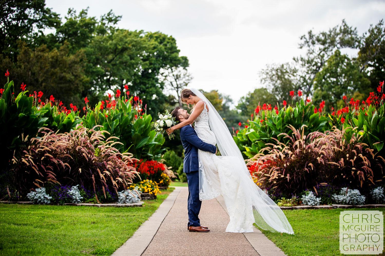 Springfield Wedding Photographer, Chris McGuire Photography, Washington Park
