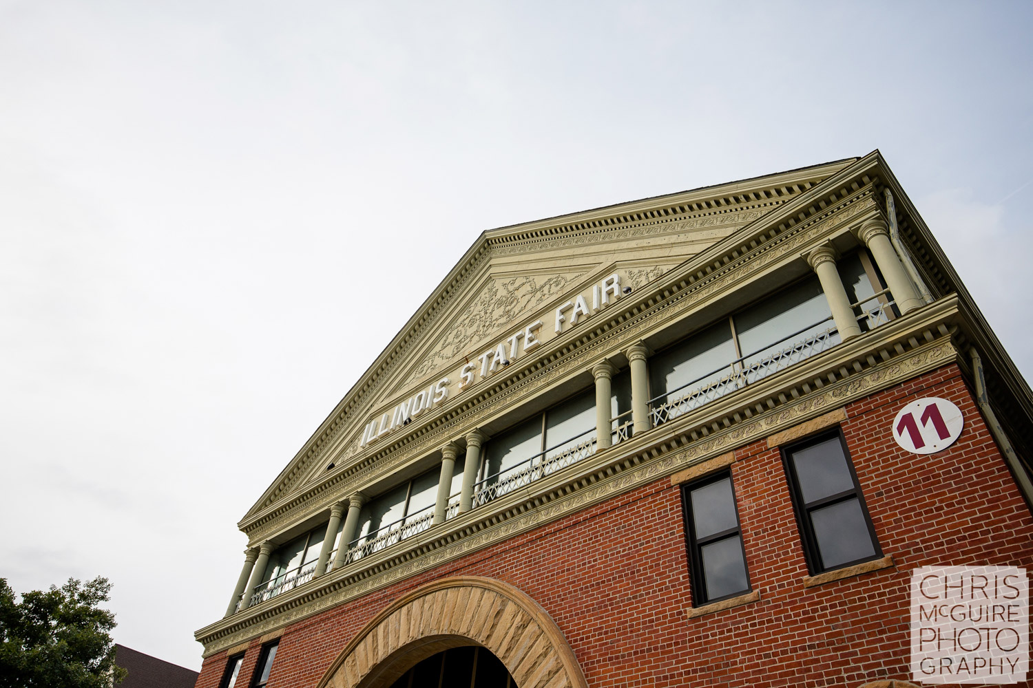 Exposition Building at Illinois State Fairgrounds Wedding