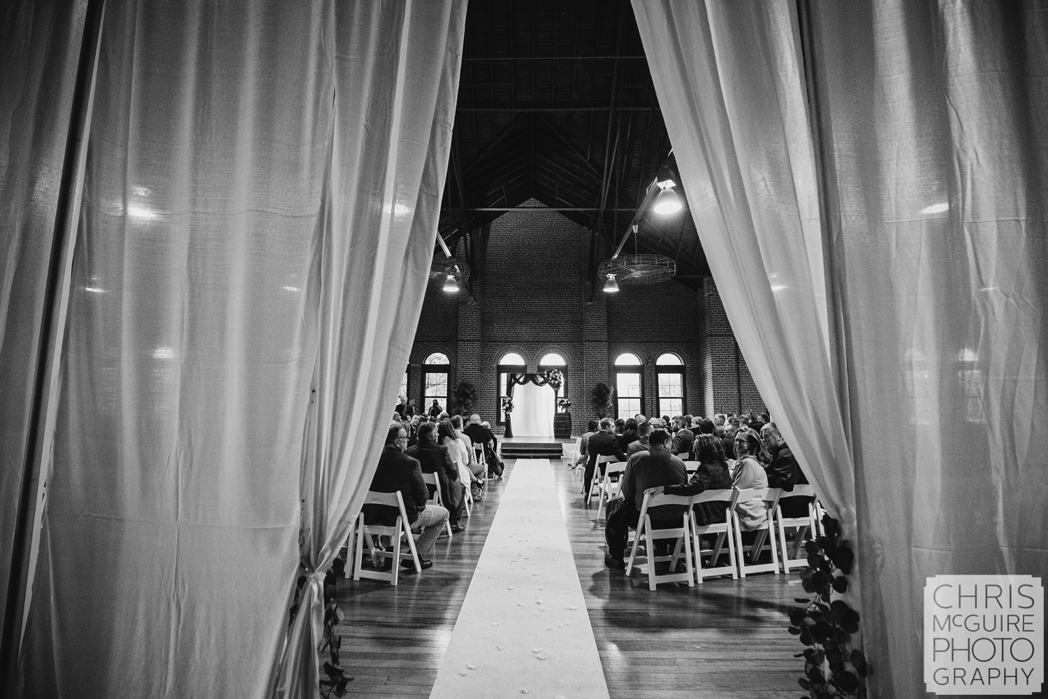 Exposition Building Wedding at Illinois State Fairgrounds