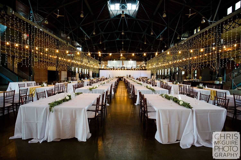 Illinois State Fairgrounds Wedding Reception Expo Building