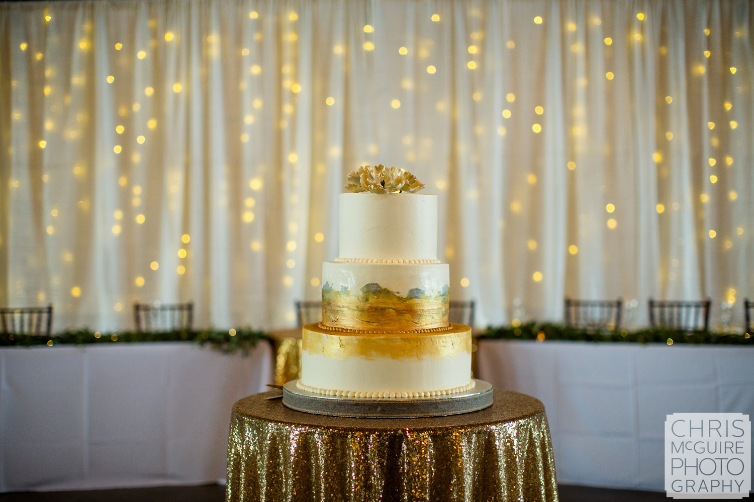 Wedding cake by Incredibly Delicious in Springfield Illinois