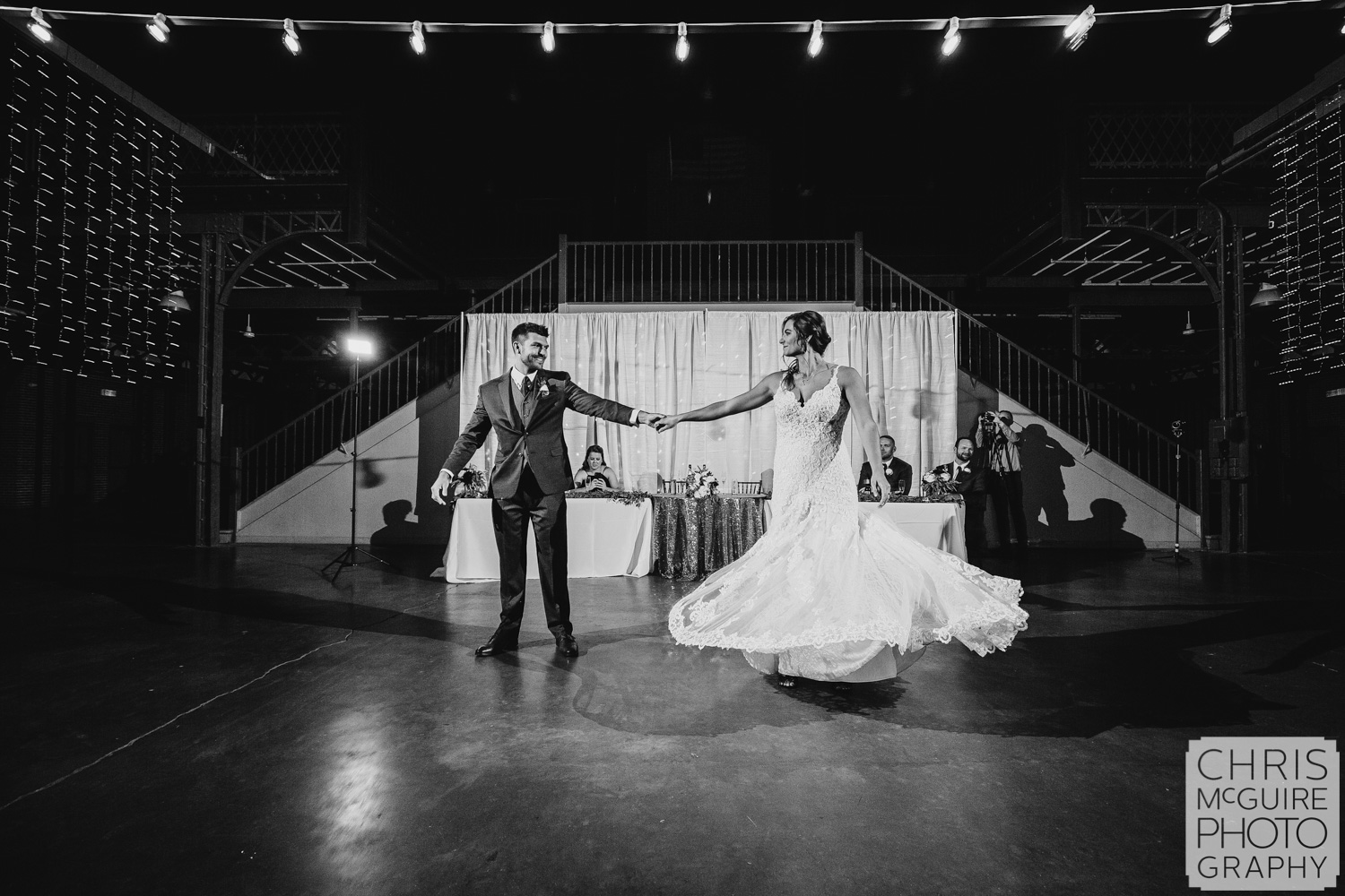 First Dance at Illinois State Fairgrounds Wedding