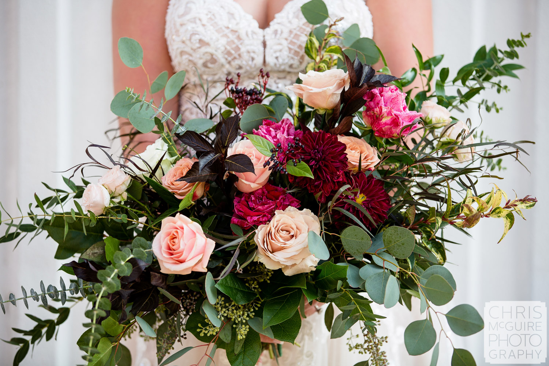 Bridal Bouqet by LeFleur Floral Design
