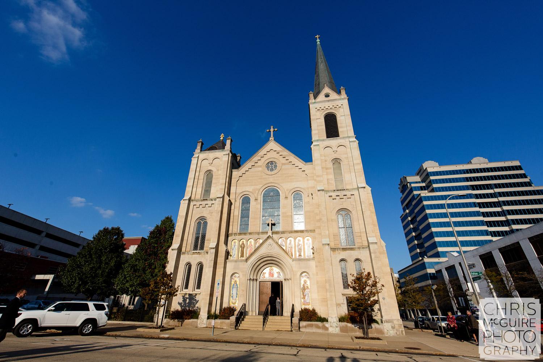 Sacred Heart Catholic Church in Peoria Illinois
